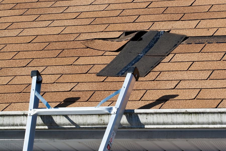 Roof Age Estimate can determine repair timeline as well as roof insurance claims!