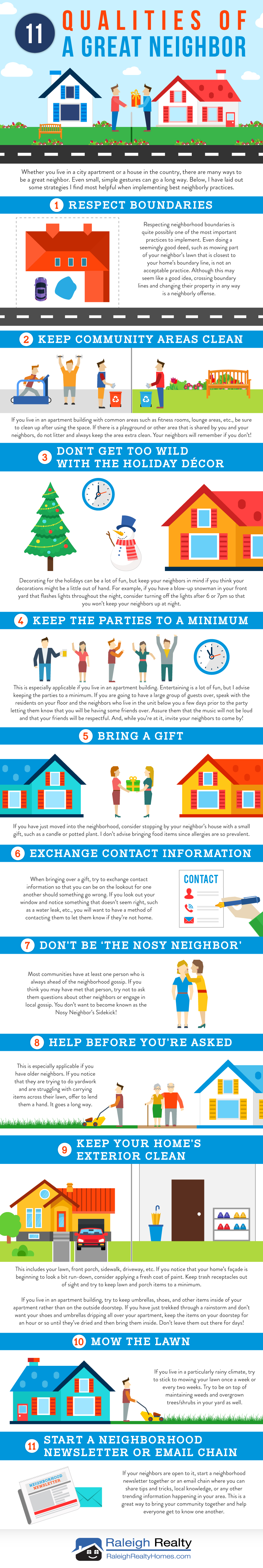 11 Qualities of a Great Neighbor - How to win over your neighborhood!