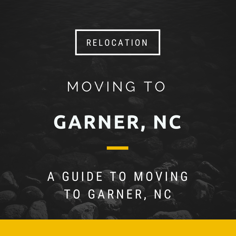 Moving to Garner, NC