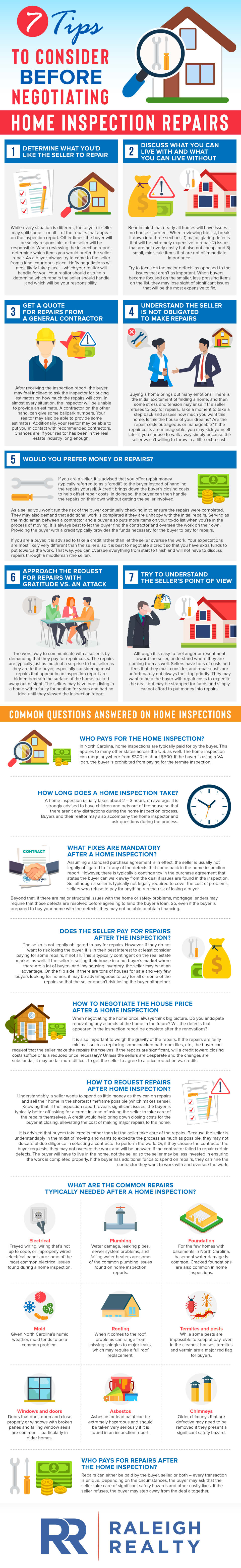 7 Tips To Consider Before Negotiating Home Inspection Repairs
