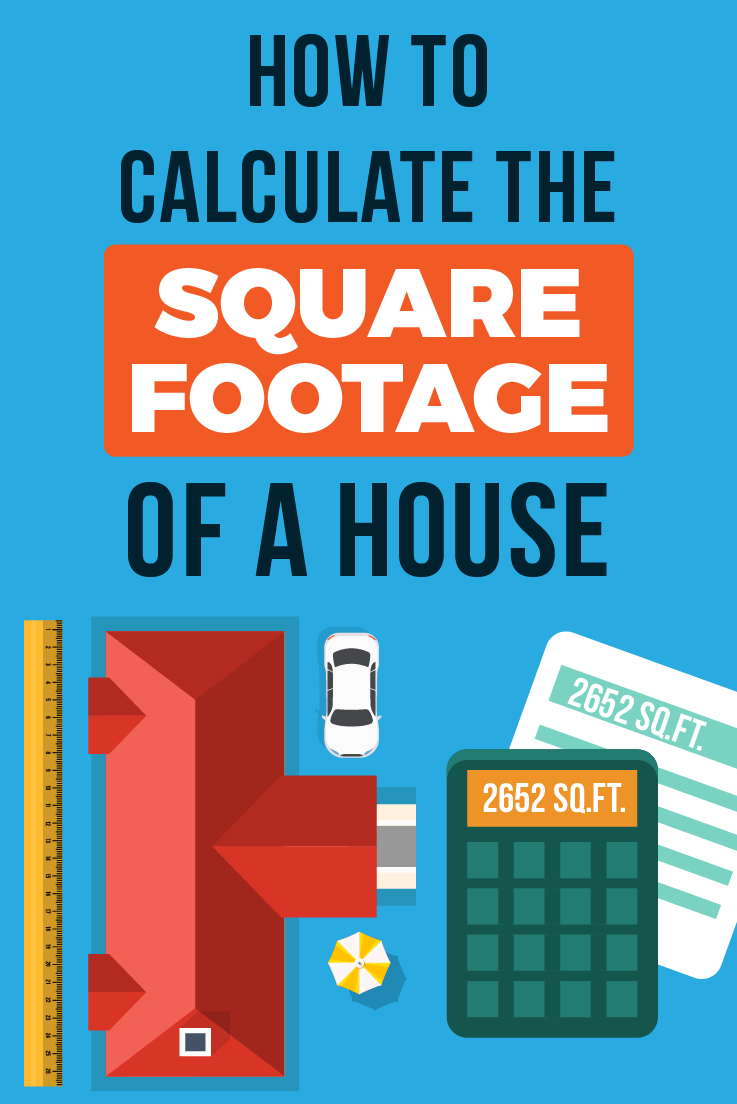 How to Measure the Square Footage of a Home by room - Square Footage Calculator
