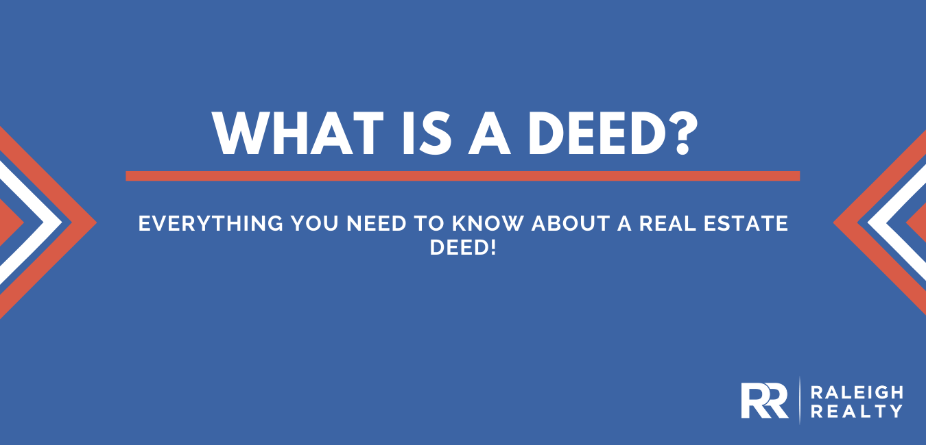 What Is a Deed? Here's what you need to know about deeds in Real Estate