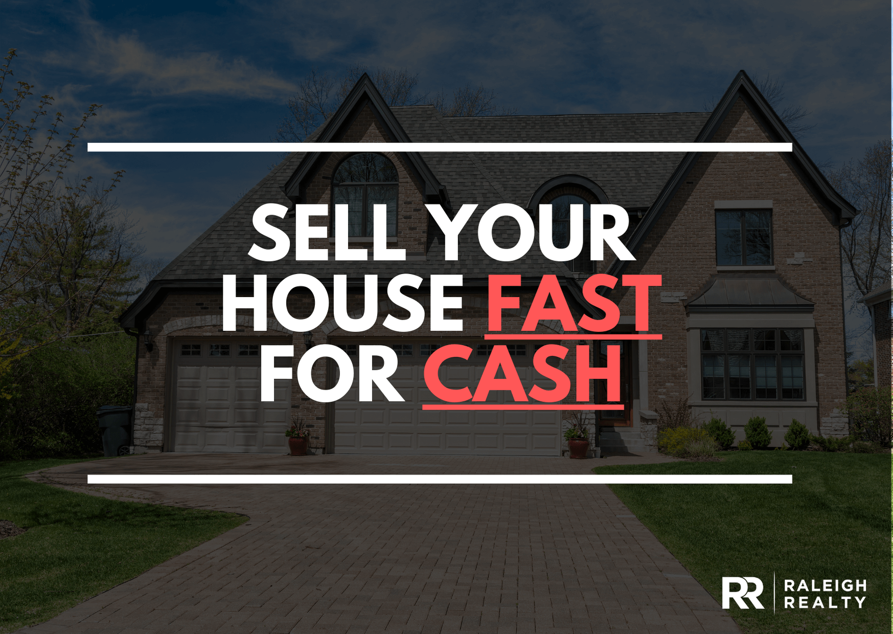 Sell Your House Fast For Cash - Fast sale for cash Real Estate