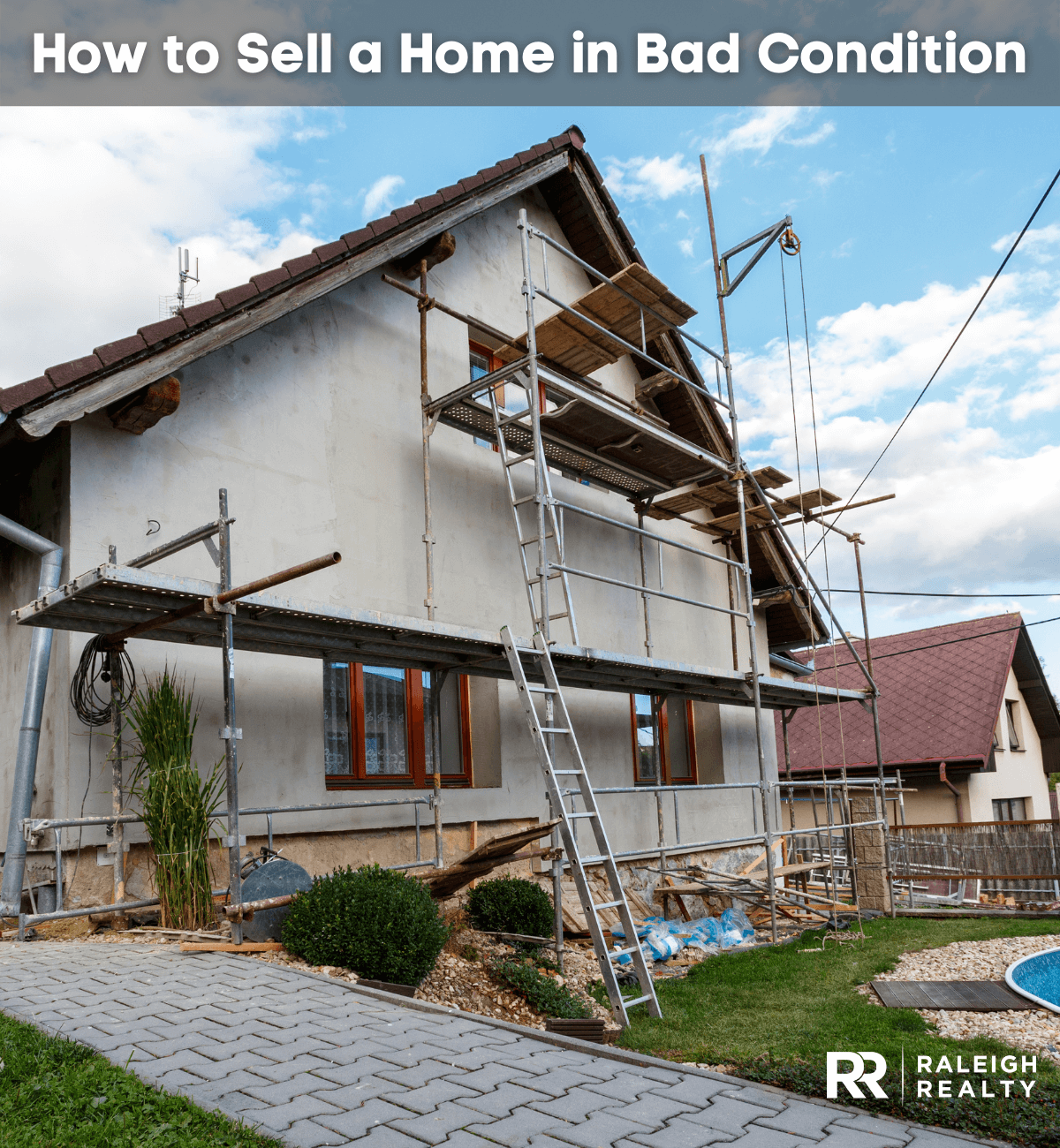 How to Sell a Home in Bad Condition