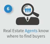 Realtors know how to find buyers for the sale of your home