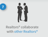 Realtors work with other Realtors to sell homes for more money