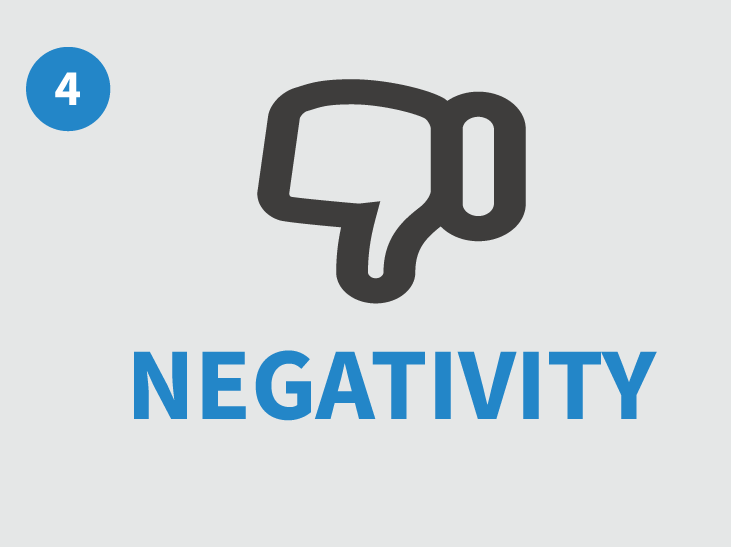 Being negative can ruin your home sale in Raleigh, so be happy when selling