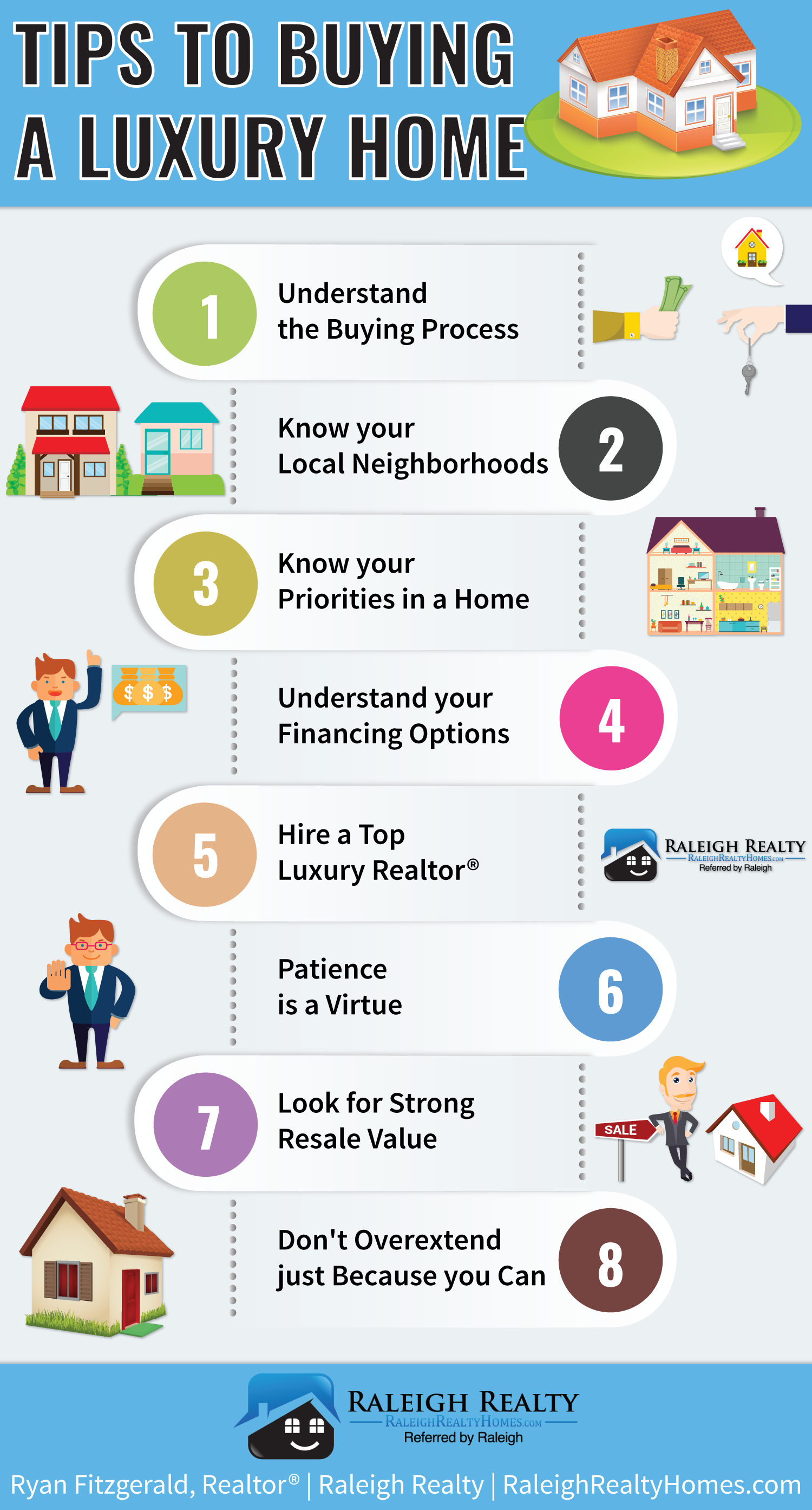 8 luxury home buying tips you need to know infographic for Secrets to buying a house