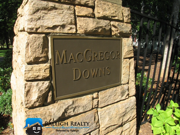 Macrgegor Downs Cary, NC Real Estate and Homes for Sale