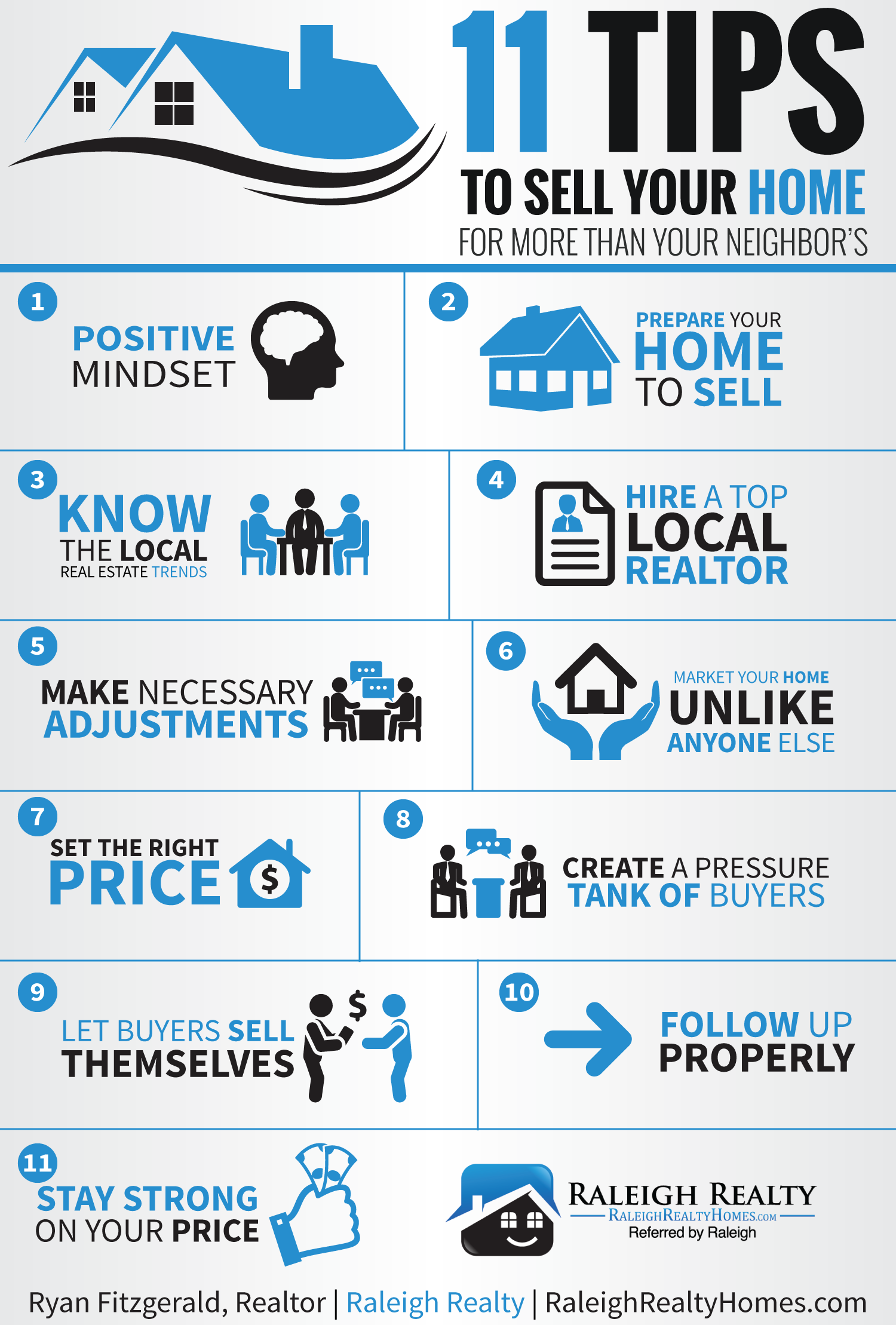 11 tips sell your home for more money than your neighbor 39 s for Tips before buying a house