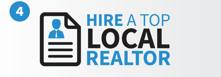 Hire a top local realtor to help sell your home for more money than your neighbors