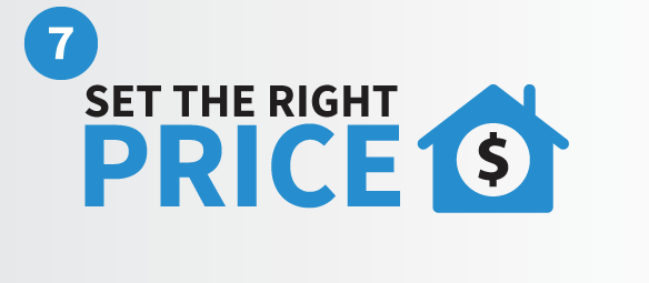 Setting the right price to list your home for sale