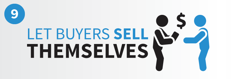 Let buyers sell themselves by asking the right sales questions