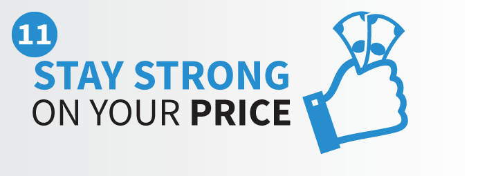 Staying strong on your list price when you sell your home