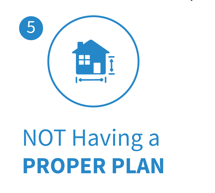 Buyer Mistake not having a proper plan when buying a home in Raleigh NC