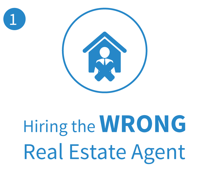 Buyer Mistake - Hiring the Wrong Real Estate Agent in Raleigh NC