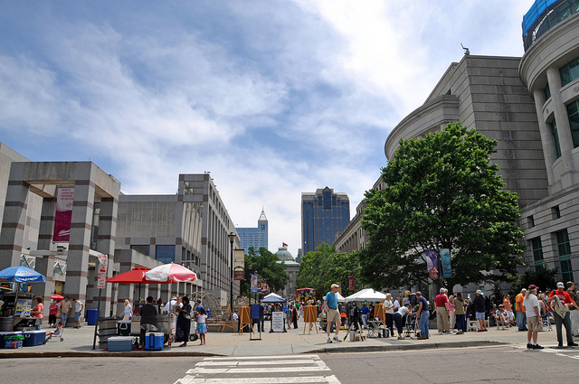 Downtown Raleigh Real Estate and information on towns and schools