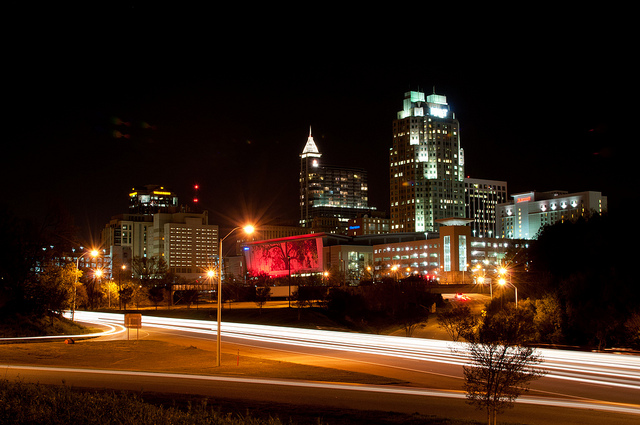 Raleigh's Downtown Night Life