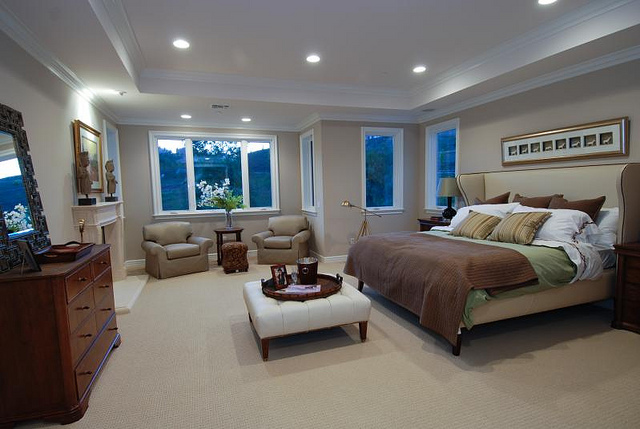 New Construction Homes for Sale Raleigh NC Master Bedroom