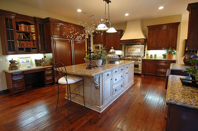 Luxury Homes for Sale Raleigh NC Kitchen and dining area.jpg