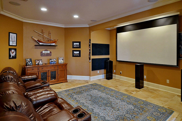 Luxury Homes for Sale Raleigh NC Movie Theater and entertainment room.jpg