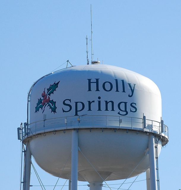 12 Oaks Holly Springs Water Tower and Homes for Sale