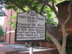 Wake County NC is rich in history, first presbyterian church!
