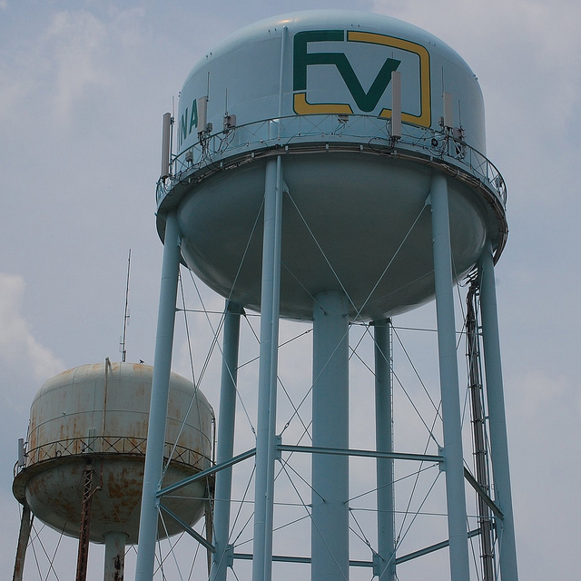 Fuquay-Varina, NC Watertower and Homes for Sale