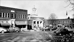 Chapel Hill, NC History of Franklin Street 1943 photo