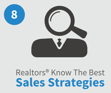 Realtors Know the best sales strategies Raleigh Realty