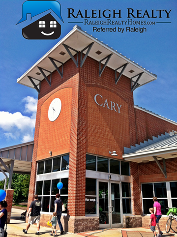 Moving to Cary, NC, you have to check out the Town Center