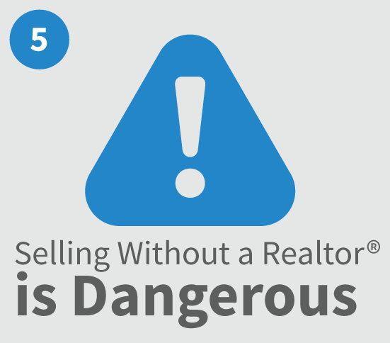 Selling your home without a Realtor is Dangerous