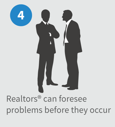 Realtors can see problems before they occur