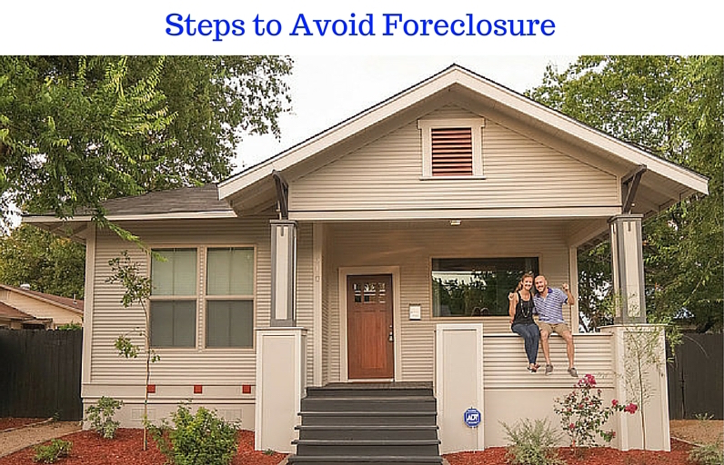 Steps to Avoid Foreclosure Raleigh, NC