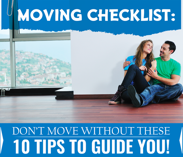 Moving Checklist Header - How to Prepare for a Simple Move in 10 Steps