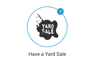 Before you Move have a Yard Sale