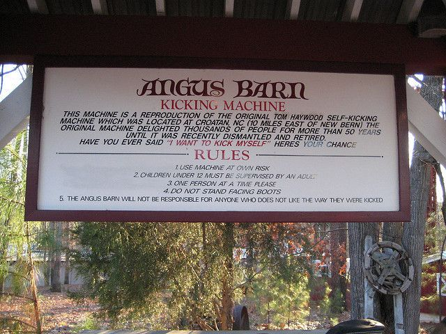 Angus Barn Restaurant in Raleigh, NC - Kicking Booth